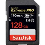 SanDisk 128GB Extreme PRO UHS-I SDXC Memory Card — 44€ Photo Emporiki
