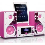 Lenco MC-020 Princess Micro System with Bluetooth, FM Radio and USB — 0€ Photo Emporiki