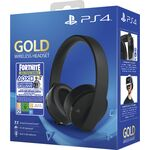 Sony PS4 Gold Wireless Headset - Gaming Headset Μαύρο - Fortnite Neo Versa bundles — 89.9€ Photo Emporiki