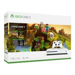 Microsoft Xbox One S White - 1TB Minecraft Creators Bundle — 314€ Photo Emporiki