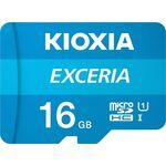Kioxia EXCERIA microSDHC 16GB U1 with Adapter — 4.4€ Photo Emporiki