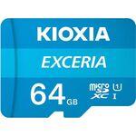 Kioxia EXCERIA microSDXC 64GB U1 with Adapter — 8.25€ Photo Emporiki
