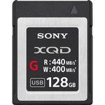 Sony 128GB XQD G Series Κάρτα Μνήμης — 178€ Photo Emporiki