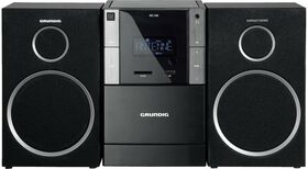 Grundig MS 240 Design Micro HiFi System with RDS Tuner and MP3 playback from CD, USB or SD card — 0€ Photo Emporiki
