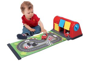 BBURAGO JUNIOR FERRARI ROLL AWAY RACEWAY — 29.99€ Photo Emporiki