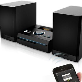 NOD STAGE Mini Hi-Fi με CD player, FM ράδιο, σύνδεση Bluetooth και αναπαραγωγή από USB stick 50W — 109€ Photo Emporiki