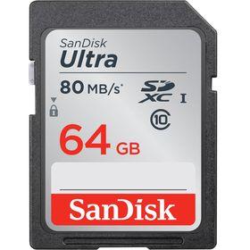 SanDisk 64GB Ultra UHS-I SDXC (Class 10) Κάρτα Μνήμης — 16€ Photo Emporiki